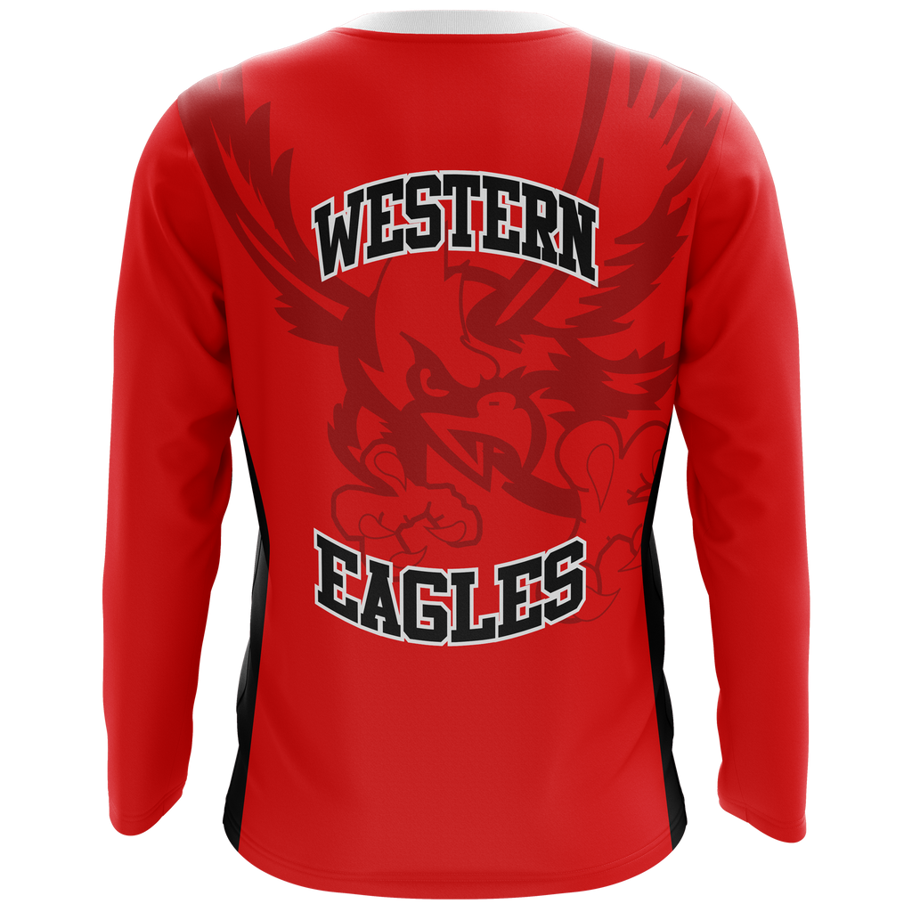 Western Eagles Long Sleeve Shooting Shirt