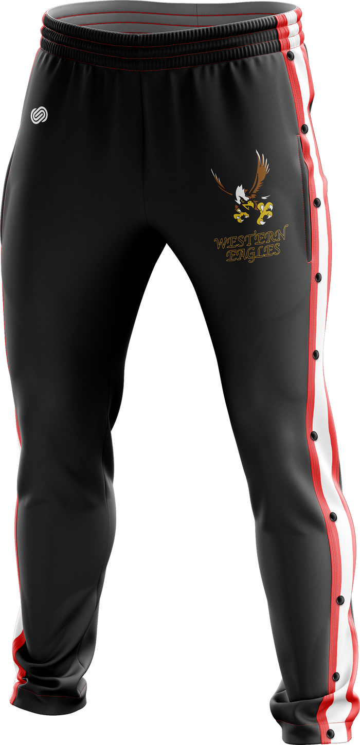 Western Eagles Tear Away Tracksuit Pants