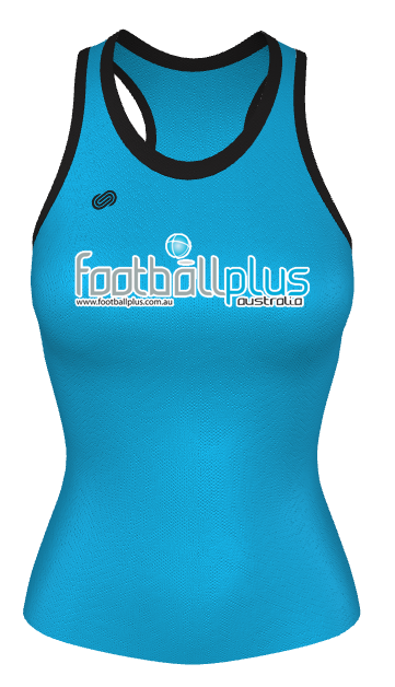 Football Plus Womens Running Singlet