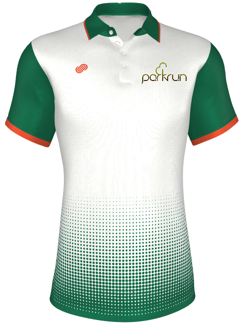 parkrun Mens Polo Shirt