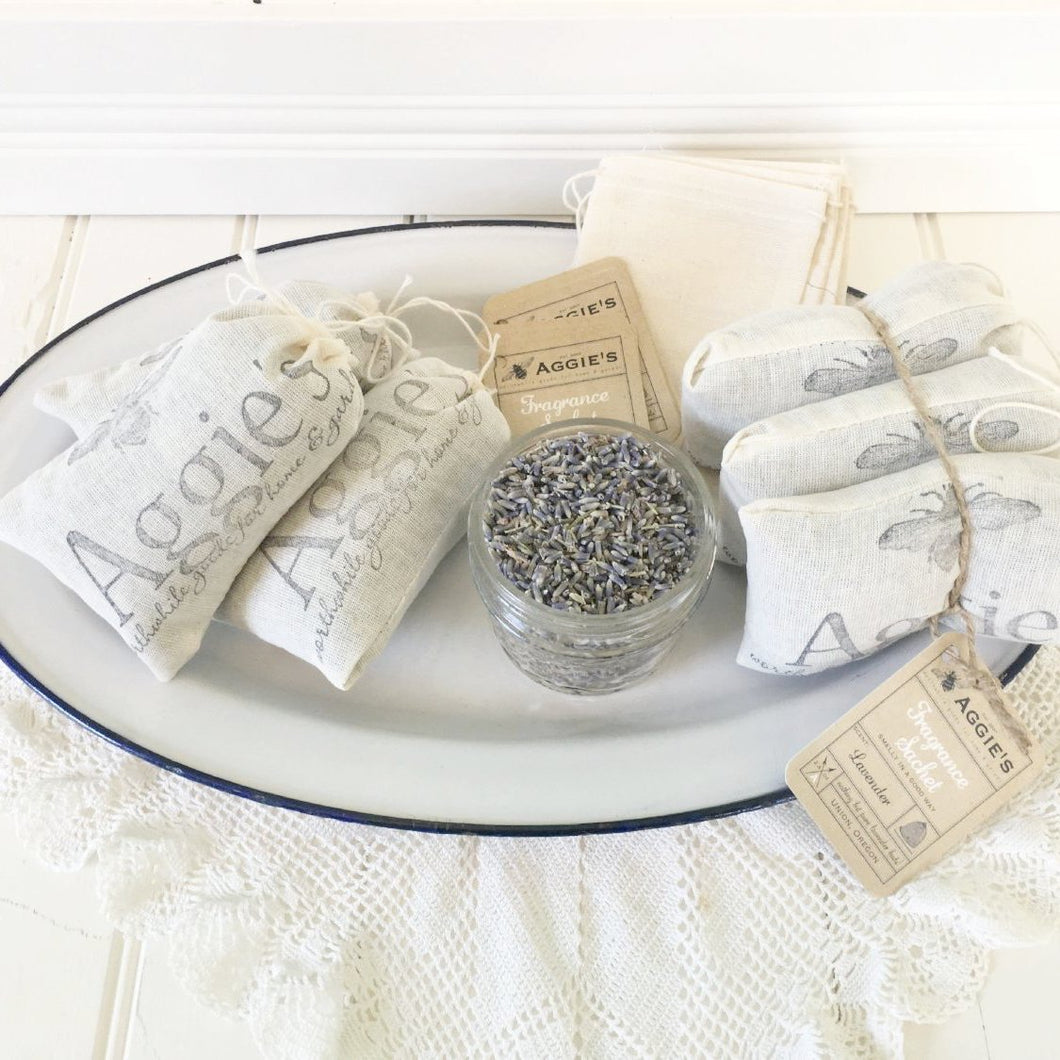 Pure Lavender Sachets (Pack of three)