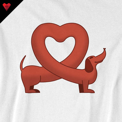 I Love Dachshunds T-Shirt - Twisted Temple