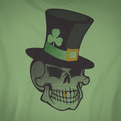 St. Patricks Day Skull T-Shirt - Twisted Temple