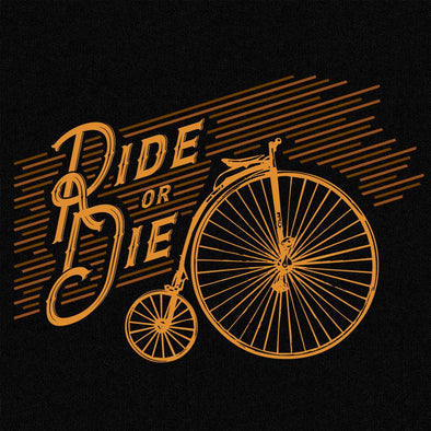 Ride or Die- Cycling-T-Shirt