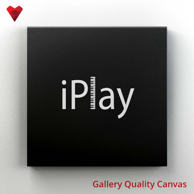 iPlay Piano - Canvas Art - Twisted Temple