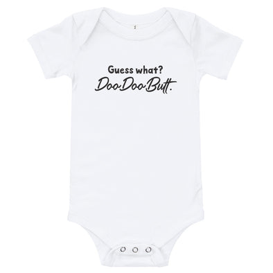 Guess what - baby onsie