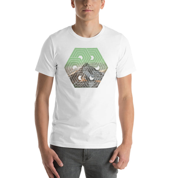 Mountains - geometry - T-shirt - Twisted Temple