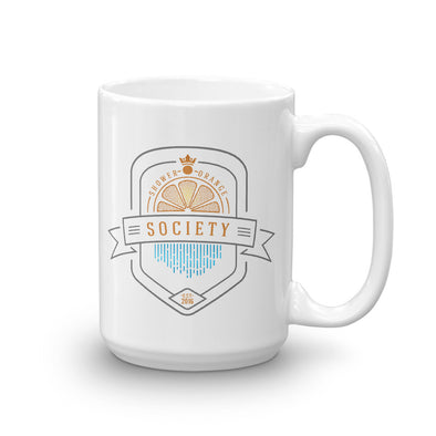 Shower Orange Coffee Mug - Twisted Temple