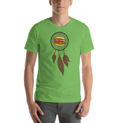 I Dream of Hamburgers - dream catcher - T-shirt