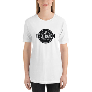 Free Range Human T-Shirt for Runners - Twisted Temple