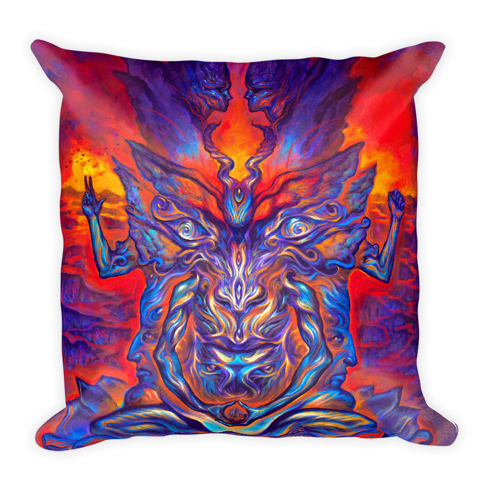 Baphometamorphosis - Square Pillow