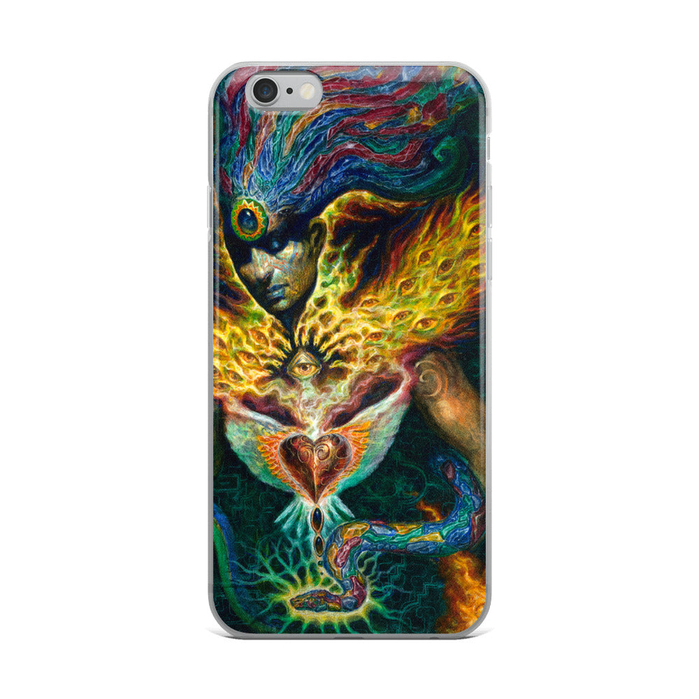 Life is Carried on the Wings of Inuition - iPhone Case