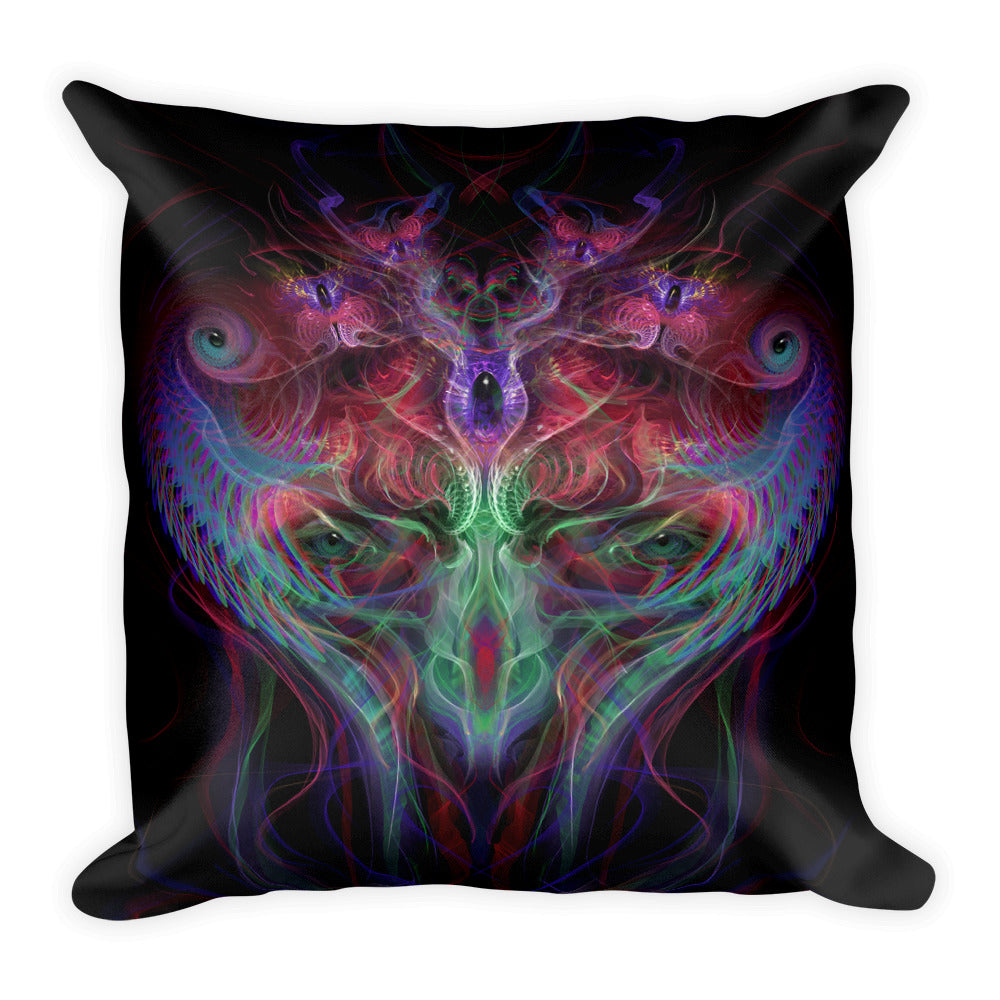 Interdimensional Being - Square Pillow
