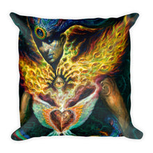 Life is Carried on the Wings of Inuition - Square Pillow