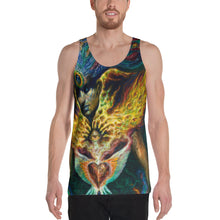 Life is Carried on the Wings of Inuition - Unisex Tank Top