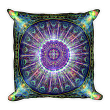 Subtle Realm Mandala - Square Pillow