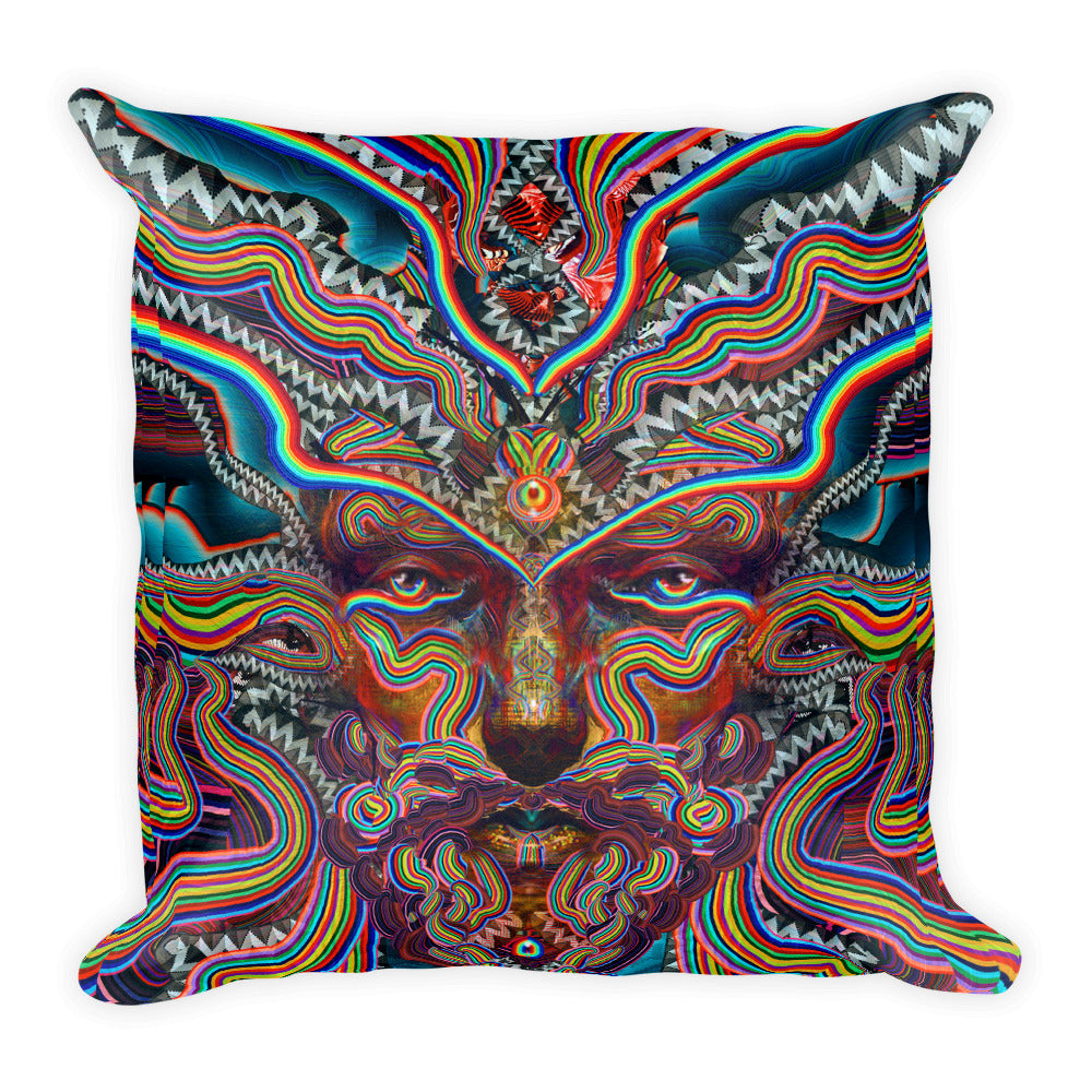 Bicycle Day - Square Pillow