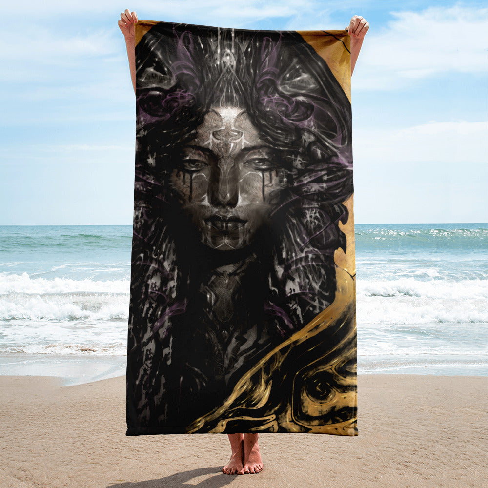Black Madonna - Towel