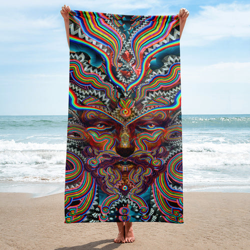 Bicycle Day - Towel