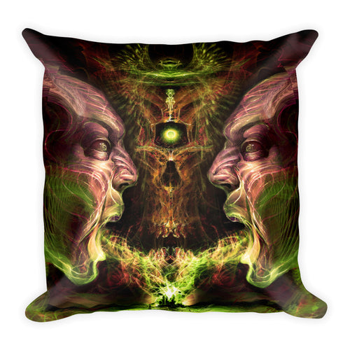 Zhora - Square Pillow