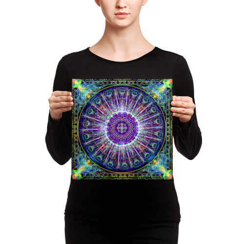 Subtle Realm Mandala - Canvas