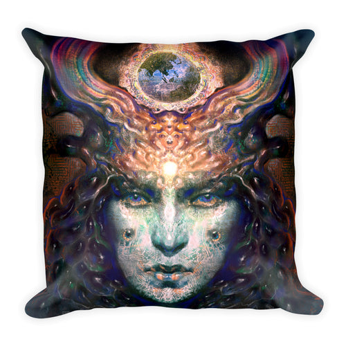 Gaian Entelechy - Square Pillow