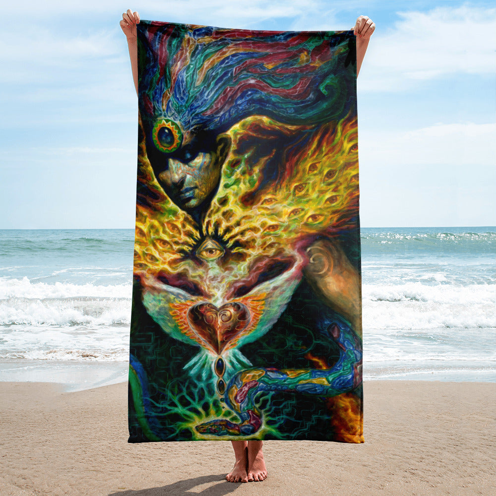 Life is Carried on the Wings of Inuition - Towel