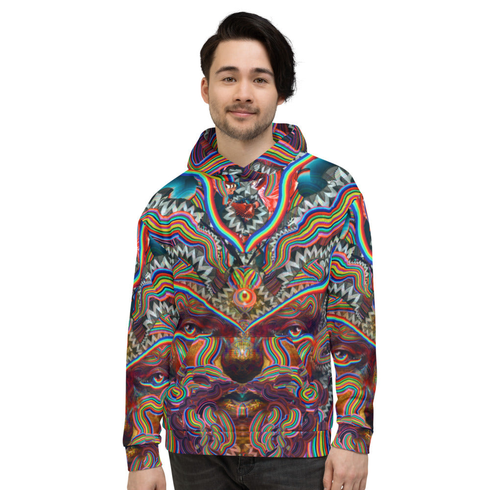 Bicycle Day Unisex Hoodie