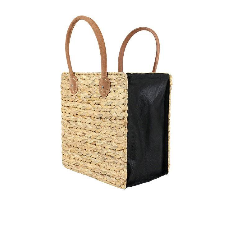 Robert Gordon Collapsible Tote Bag with Suede Handles