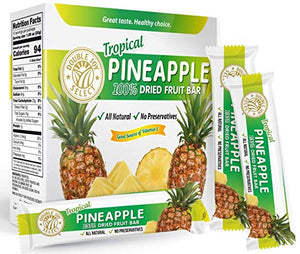 100% Dried Pineapple Fruit Bar and nothing else! Healthy - Delicious and Nutritious.