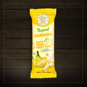 100% Dried Banana Fruit Bar