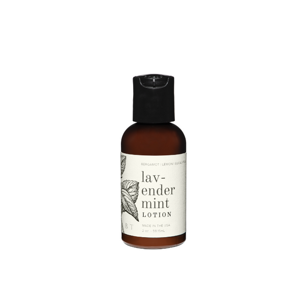 Lavender Mint Travel Lotion