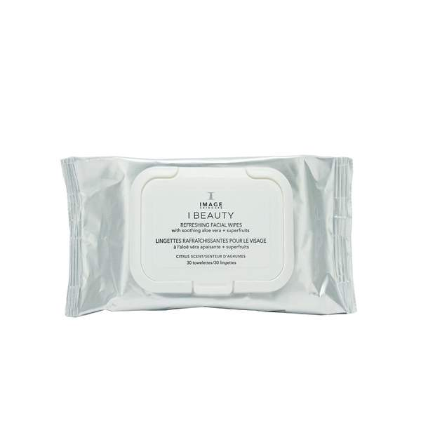 I BEAUTY refreshing facial wipes (30 towelettes)
