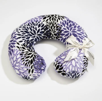 LAVENDER SPA NECK PILLOW IN PURPLE BLOOM