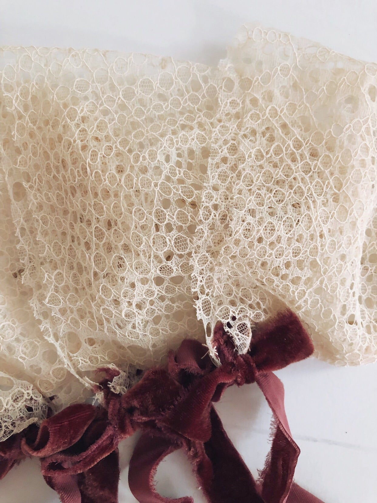 Ellie Lace Bonnet