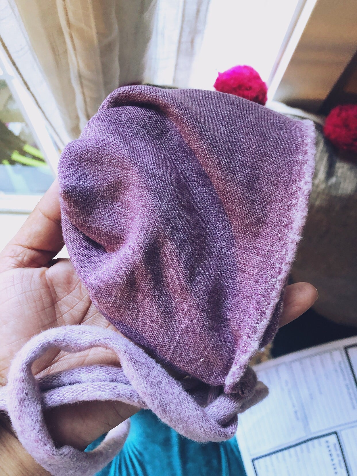 Purple Skies Bonnet