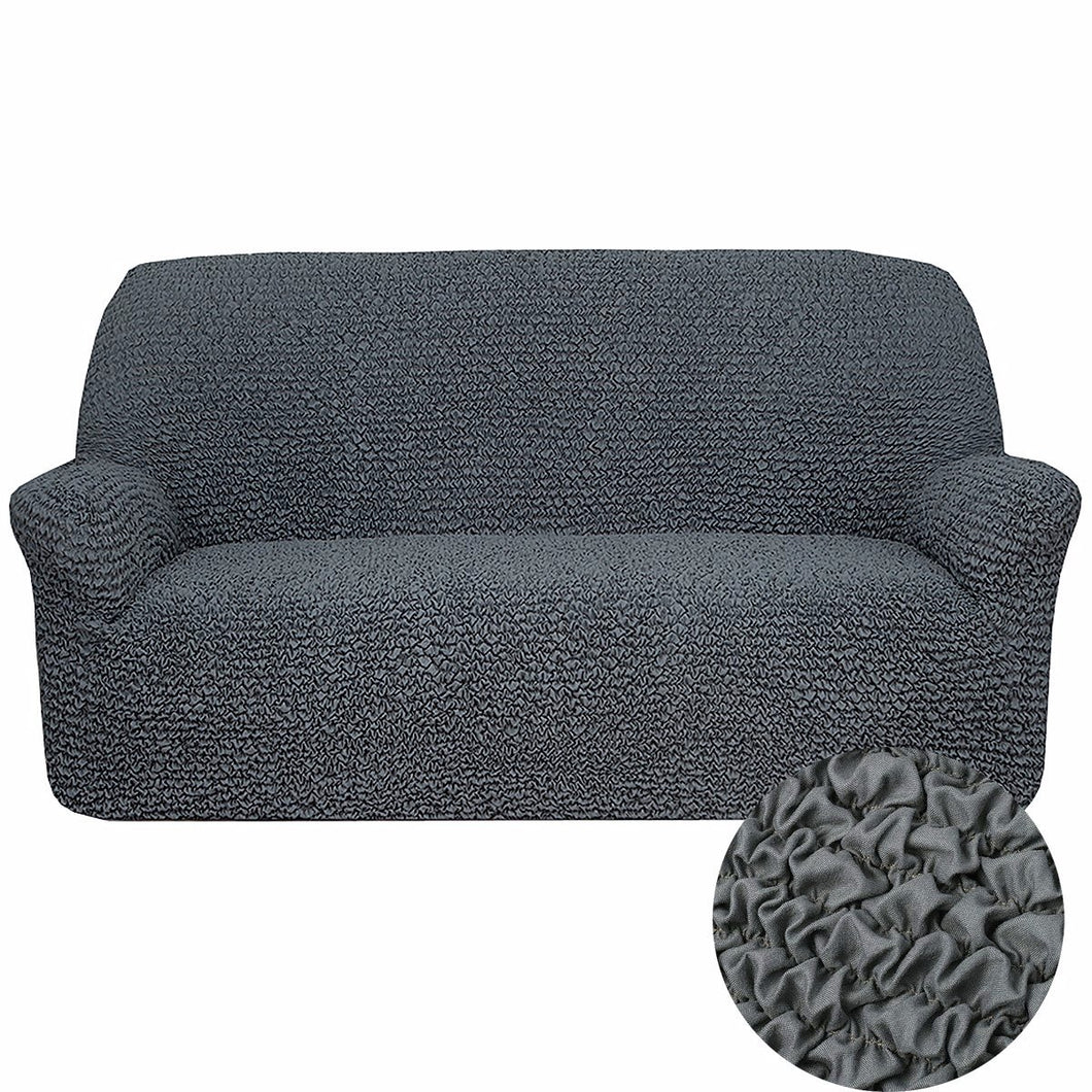 white fashion charcoal slipcover cover grey armrest item polar sofa sets couch bear green stretch