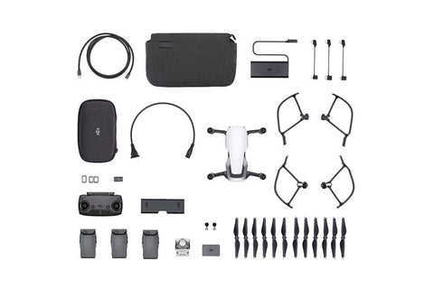 DJI Mavic Air 4K Quadcopter Fly More Combo - Arctic White