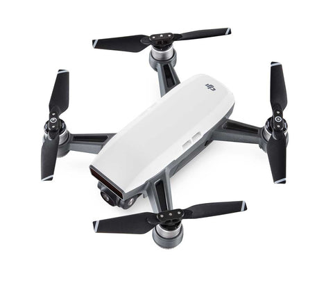 DJI Spark Mini Drone - Alpine White (Without Controller)