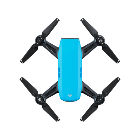 DJI Spark Mini Quadcopter Drone - Sky Blue - 1080P Video 12MP Photos