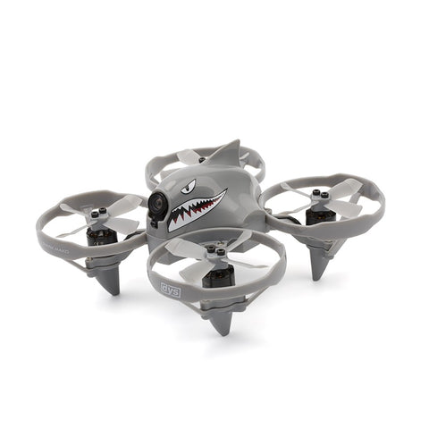 DYS Shark Mako Brushless FPV Micro Drone - BNF (Gray)