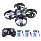 JJR/C H36 2.4GHz 4CH 6-Axis Gyro 3D Flip RTF Aerocraft Portable Mini Drone RC Quadcopter With Headless Mode 3 Batteries