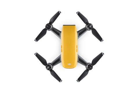 DJI Spark Mini Drone - Sunrise Yellow (Without Controller)