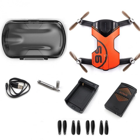 Wingsland S6 Pocket RC Quadcopter FPV Selfie Drone 4K HD Camera