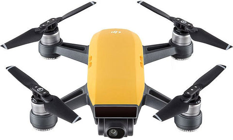 DJI Spark Mini Quadcopter Drone - Sunrise Yellow - 1080P Video 12MP Photos