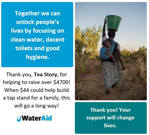 Supporting Water Aid