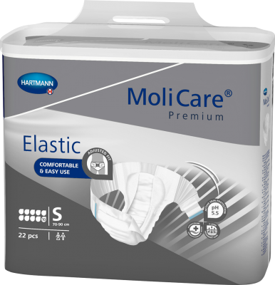 MoliCare Premium Elastic 10D - Small (Pack of 22)