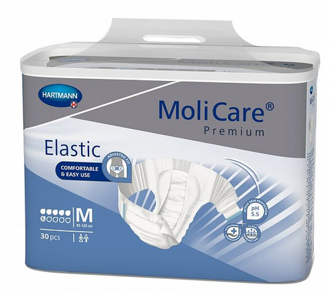 MoliCare Premium Elastic 6D - Medium (Pack of 30)