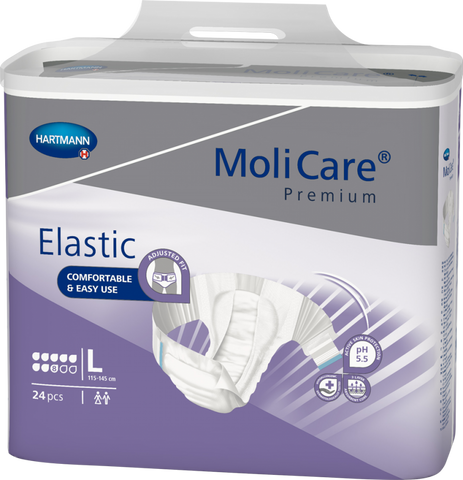 MoliCare Premium Elastic 8D - Large (Pack of 24)