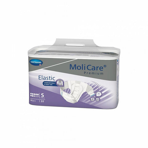 MoliCare Premium Elastic 8D - Small (Pack of 26)